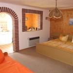 Ferienhaus Barth Schlafzimmer