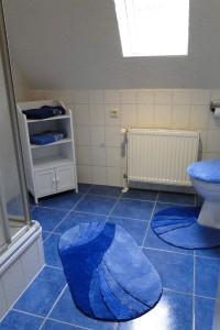 Ferienwohnung Obergeschoss Badezimmer